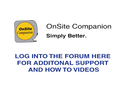 OnSite Companion Forum